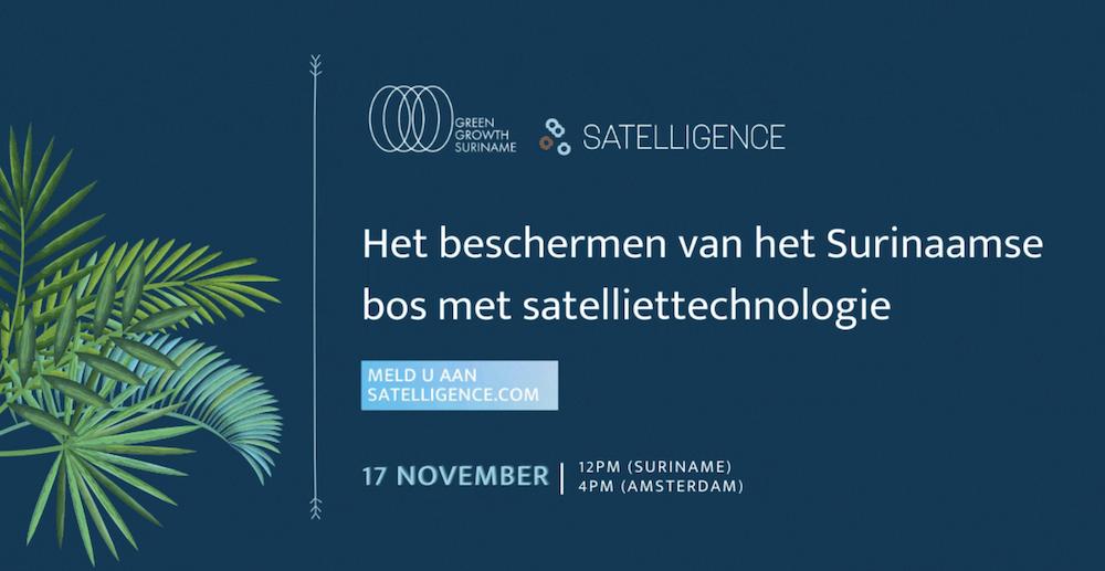 Webinar: hoe beschermen we het bos met satelliet technologie
