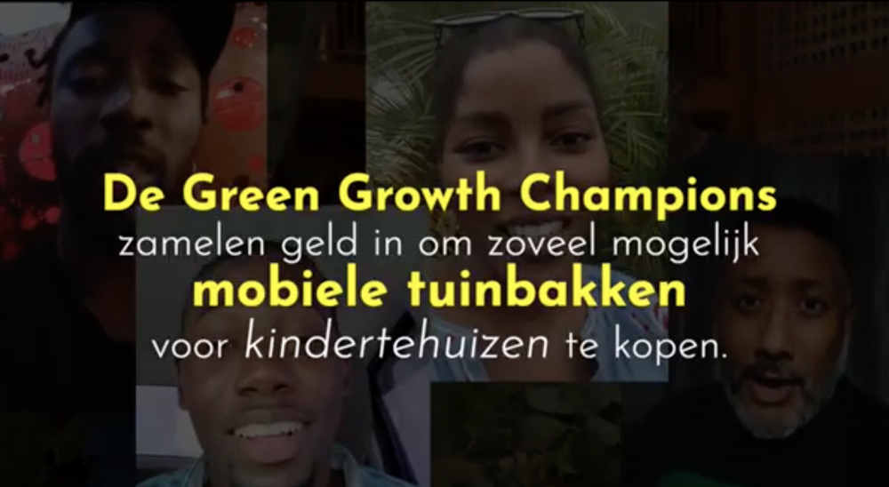 Green Growth Champions start gardening project for children's homes